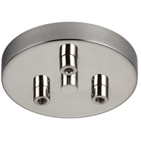 Multi-Port Canopies 3 Light 5 inch Polished Nickel Pendant Ceiling Light