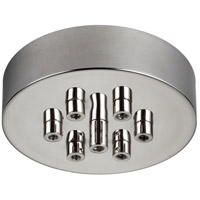 Feiss MPC07PN Multi-port Canopies 7 Light 7 inch Polished Nickel Pendant Ceiling Light