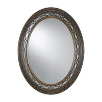 Feiss Drawing Room Mirror in Walnut MR1066WAL