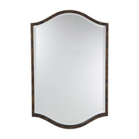 Drawing Room 33 X 21 inch Walnut Mirror Home Decor