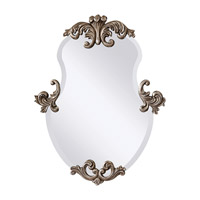 Feiss Venice Mirror in Antiqued Silver Leaf MR1112ASL photo thumbnail