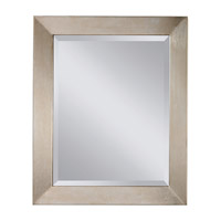 Galaxy 34 X 28 inch Silver Leaf Mirror Home Decor
