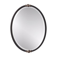 Feiss Jackie Mirror in Black and Antique Silver MR1119BK/ASL photo thumbnail
