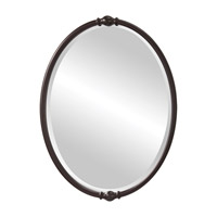 Feiss MR1119ORB Jackie 33 X 24 inch Oil Rubbed Bronze Wall Mirror Home Decor