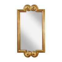Feiss Melanie Mirror in Pale Antique Gold MR1121PAG