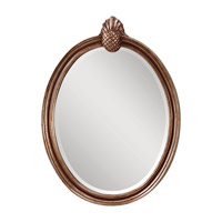 Feiss Louise Mirror in Mahogany  and Antique Silver MR1139MHG/ASL