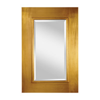 Feiss Smythe Mirror in Antique Gold MR1140AGD