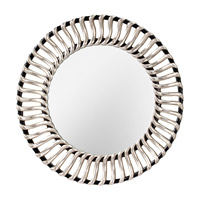 Feiss Cosmo Mirror in Black and Silver MR1145BK/SV