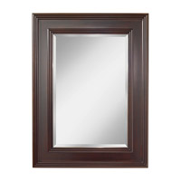 Eleanor 48 X 36 inch Espresso Mirror Home Decor