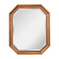 Feiss Marisa Mirror in Dark Antique Gold MR1161DAG