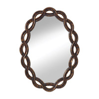 Feiss MR1163GEBY Charmed 34 X 24 inch Golden Ebony Wall Mirror Home Decor photo thumbnail