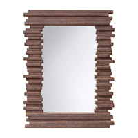 Feiss Stacked Mirror in Gray Rock MR1170GR