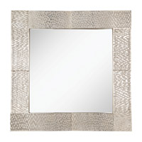 Feiss Raphael Mirror in Silver Leaf MR1171SL