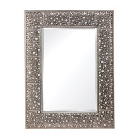Feiss Danby Mirror in Rustic Silver MR1175RUS