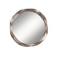 Feiss Signature Mirror in Silver Leaf MR1183SL