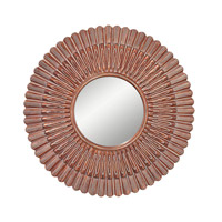 Feiss Signature Mirror in Aegean Gold MR1187AG