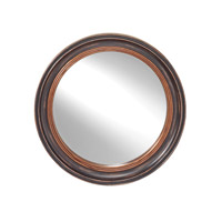 Feiss Signature Mirror in Distressed Black MR1193DBK