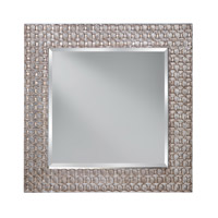 Signature 42 X 42 inch Antique Silver Leaf Mirror Home Decor