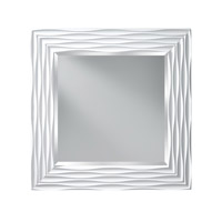 Feiss Onda Mirror in High Gloss White MR1200HGW