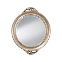 Feiss Signature Mirror in Antique Silver Leaf MR1207ASLF