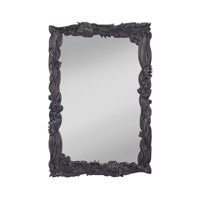 Signature 36 X 24 inch High Gloss Black Mirror Home Decor
