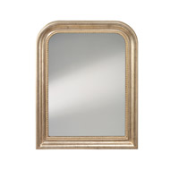 Feiss Signature Mirror in Distressed Silver Leaf MR1212DSL