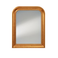 Feiss Signature Mirror in Distressed Gold Leaf MR1213DGL