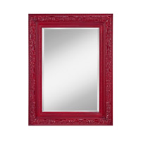 Feiss Signature Mirror in Crimson Lacquer MR1219CRML