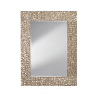 Signature 48 X 36 inch Polished Silver Mirror Home Decor
