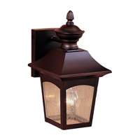 Homestead 1 Light 12 inch Oil Rubbed Bronze Outdoor Wall Sconce in Standard