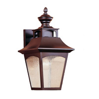 Homestead 1 Light 16 inch Oil Rubbed Bronze Outdoor Wall Sconce in Standard