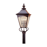 Homestead 4 Light 31 inch Oil Rubbed Bronze Post Lantern