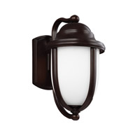 Feiss Vintner Outdoor 1 Light Outdoor Wall Lantern in Heritage Bronze OL10101HTBZ-F