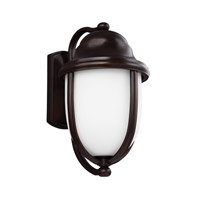Vintner Outdoor 1 Light 20 inch Heritage Bronze Outdoor Wall Lantern in Fluorescent