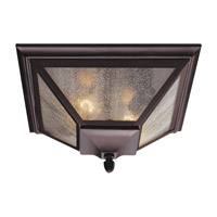 Homestead 2 Light 13 inch Oil Rubbed Bronze Outdoor Flush Mount
