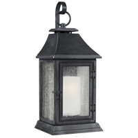 Feiss OL10600DWZ Shepherd 1 Light 17 inch Dark Weathered Zinc Outdoor Wall Sconce