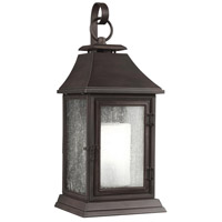 Shepherd 1 Light 17 inch Heritage Copper Outdoor Wall Sconce in Standard