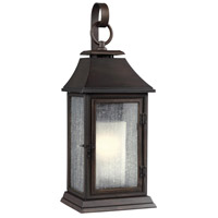 Shepherd 1 Light 19 inch Heritage Copper Outdoor Wall Sconce in Standard