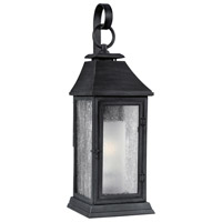 Shepherd 1 Light 26 inch Dark Weathered Zinc Outdoor Wall Sconce in Standard