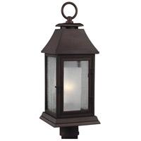 Feiss OL10608HTCP Shepherd 1 Light 24 inch Heritage Copper Outdoor Post Lantern
