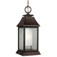 Shepherd 1 Light 9 inch Heritage Copper Outdoor Pendant in Standard