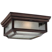 Shepherd 2 Light 13 inch Heritage Copper Outdoor Flush Mount in Standard