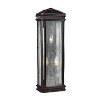 Feiss Federal 2 Light Outdoor Wall Sconce in Gilded Bronze OL10801GBZ