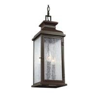 Feiss OL11109DAC Pediment 2 Light 7 inch Dark Aged Copper Outdoor Pendant