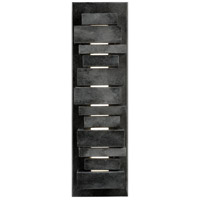 Feiss Ledgend Outdoor Wall Sconce in Dark Weathered Zinc OL11201DWZ