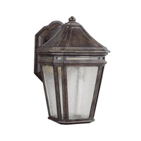 Feiss OL11300WCT-LED Londontowne 1 Light 11 inch Weathered Chestnut Outdoor Wall Sconce in Integrated LED