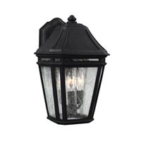 Feiss Londontowne 3 Light Outdoor Wall Sconce in Black OL11301BK