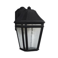 Londontowne 3 Light 14 inch Black Outdoor Wall Sconce in Integrated LED