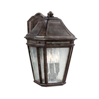 Feiss Londontowne 3 Light Outdoor Wall Sconce in Weathered Chestnut OL11301WCT