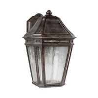 Feiss OL11301WCT-LED Londontowne 3 Light 14 inch Weathered Chestnut Outdoor Wall Sconce in Integrated LED